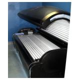 Tan America By Heartland Model 5400 Level 5 Tanning Bed With 54 Bulbs And Radio, Powers On, Bulbs Re