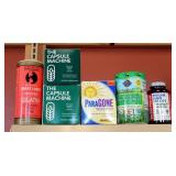 Supplement Assortment Including Wheat Grass Juice Powder, Gelatin, Capsule Machines, Acid Reducers,