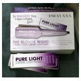 Pravana The Blonde Wand With Pure Light Creme Lightener With Original Box And Paperwork, And Pravana