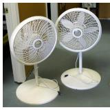 Lasko 20 Inch Adjustable Oscillating Fans, Qty 2