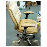 "Adjustable Rolling Office Chair, 42"" Tall"