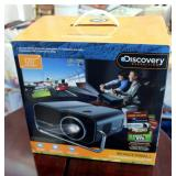 Discovery Expedition Wonderwall Entertainment Projector, Projects Up To 120 Inches, In Original Box