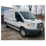 2015 Ford Transit Van, VIN # 1FTNR2CV6FKA01830