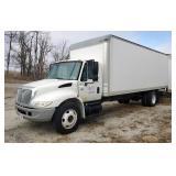 2005 International 4300 Box Truck, VIN # 1HTMMAAM25H686678