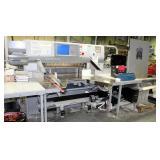 2008 Polar 115 XT Autotrim Cutting System, 3 Phase, Includes Dorner Disposal Conveyor Model 705513,