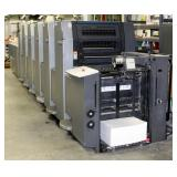 2001 Heidelberg Speedmaster SM 52 Printing Press, 5 Color With Coater, Includes Additional Parts And