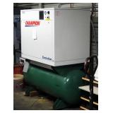 Champion Evolution Air Compressor, Model HER15F-12, 15 HP, 120 Gal Tank, And Air Dryer , Model CRN50