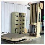 """Lantech Lan-Wrapper Stretch Wrapping Machine, Model V-1296, 48"""" Platform"""