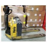 Yale Battery Powered Pallet Jack, Model MPB040ACN24C2748, 4000Lb Capacity