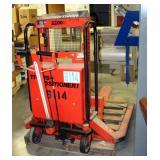 InterThor Trans Positioner Forklift, Model LL1000TES, 2200Lb Capacity