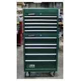 """MasterForce Two-Piece Rolling Tool Chest, With Key, 63"""" x 34"""" x 18"""""""