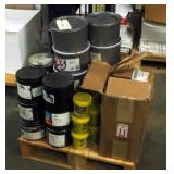 Vanson Process Ink Various Colors, Vanson VanGlo Fluorescent, And Sephira Eco Print Process Ink, Con