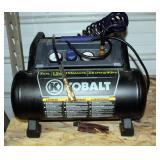 Kobalt 3 Gallon Portable Air Compressor, Model 0200382, 155 Max PSI