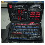 Task Force Tool Set, Including Pliers, Hex Keys, Wrenches, Bits, Drivers With Bits, Sockets And More