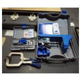 Kreg Jig K4 System And Kreg R3 Accessory, Both In Carrying Cases, Includes Vise Clamp