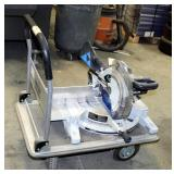 """ULine Heavy Duty Hand Mover With Collapsible Handle, Model H-2176, 600 Pound Capacity, 37"""" x 34"""" x 2"""