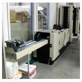 Duplo Collator System Dynamic Booklet Maker, Includes DBM-250, DBM-250T, And DC10000S Mfg Date 1998