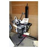 Paragon Labeling System Model 8543110, On Rolling Stand