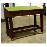 """Solid Wood 3 Drawer Blueprint Table, 49"""" x 59.5"""" x 24"""""""
