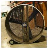 """Lasko 45"""" Rolling Industrial Drum Fan, Model 3244"""