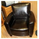 """Vinyl Upholstered Reception Chairs, Qty 2, 34"""" x 31"""" x 28"""""""