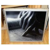 """Electric Lighted Display Sign, 26"""" x 26"""" x 2.5"""""""