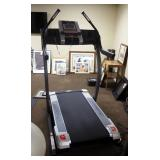 """Nordic Tack X7I Incline/ Decline Trainer, 300Lb Weight Capacity, 7"""" Touch Screen Monitor, 12 MPH, El"""