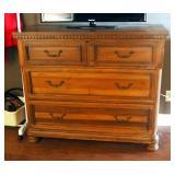 """Solid Wood Cedar Line 3- Drawer Dresser, 42"""" x 20"""" x 49"""""""