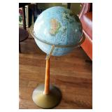 """Standing 12"""" Globe On Stand"""
