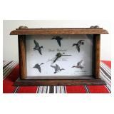 """Ducks Unlimited Exclusive First Edition Battery Operated Desk Clock, And Missouri Ducks Unlimited """"A"""