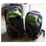 Eddie Bauer Rolling Duffel Luggage, Qty 2