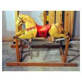 Rich Toys Davey Crocket Spring Rocking Horse