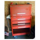 """Kennedy Tool Box And Tool Chest Combo, 49"""" x 26"""" x 18"""", Includes Key"""