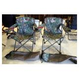 Mossy Oak Obsession Folding Camp Chairs, Including Storage Bags, Qty 2