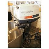 Vintage Evinrude Outboard Motor, Left Hand Controls