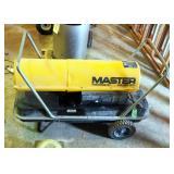 Master Thermostat 150000 BTU Portable Kerosene/ Diesel Heater