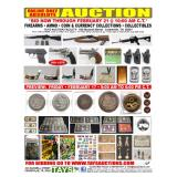 ONLINE ONLY ABSOLUTE AUCTION - Firearms, Ammo, Coins, Currency & Collectibles