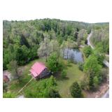 Online Absolute Auction of Home and Pond on 3 Acres and Outbuildings