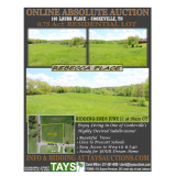 Online Absolute Auction of Residential Lot in Rebecca Place
