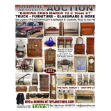Online Absolute Auction - Truck, Furniture, Glassware & More