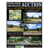 ABSOLUTE ONLINE AUCTION: 0.48 Ac LOT IN WHITE PLAINS