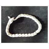 Mexico silver snake necklace
