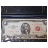 1953 $2 Red Seal