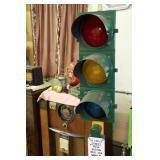 Vintage traffic light.
