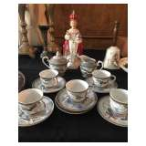 Dragonware tea set