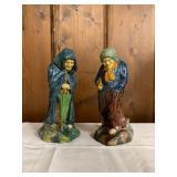 P48--pair of ceramic figures, Polish--$80