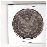 Reverse of 1884-S Morgan