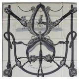 "Vintage Hermes silk scarf "" Harnais de Ceremonie "" 1959 GC2A"