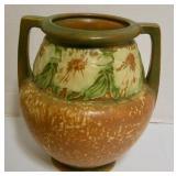 Roseville Dahl Rose vase