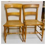 set of 4 Maple chairs